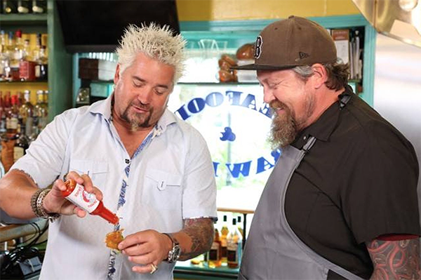 Via Diners, Drive-ins, and Dives Facebook