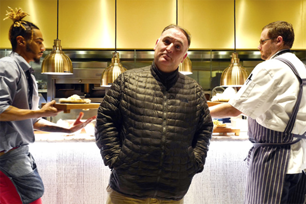 Chef jos andr s on trump the american dream and uniting for Fish by jose andres